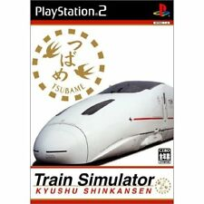 Used PS2 Train Simulator Kyushu Shinkansen Japan Import