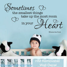HM Wall Decal Wall Art NEW Nursery Or Kids Room Wall Quote Decal