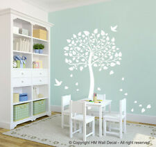 HM Wall Decal Wall Art NEW Tree and Birds DIY Removable Wall Sticker