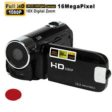 HD 1080P 2.7'' 16MP 16X LCD Digital Zoom Video Camcorder Camera DV Black Red