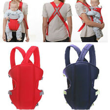 New Adjustable Backpack Carrier Wrap Breastfeeding Infant Baby Sling Breathable