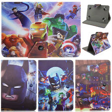 "For Universal 7"" -7.9"" Tablet PC New The Avengers Cartoon PU Leather Cover case"