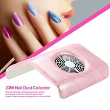 Nail Dust Suction Collector Nail Art Dirt Collection Machine Cleaning Tool T1W0