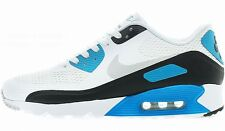 NIKE AIR MAX 90 ULTRA ESSENTIAL White-Grey-Blue running training sneakers new