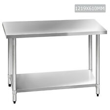 i.Life Kitchen Carts & Islands NEW 304 Stainless Steel Kitchen Work Bench Table