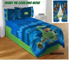 THE GOOD DINOSAUR Movie COMFORTER+SHEETS+CURTAINS SET Bed in a Bag Jurassic Park