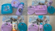 Zak LUNCH DINNER MEAL TIME SETS Disney Frozen Character Eating Containers