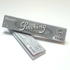 Smoking Master King Size - Extra Slim Rolling Papers - Multi Listing