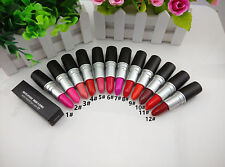 Women Professional Makeup Lipstick Waterproof Cosmetic Pencil Lipstick 12 Colors
