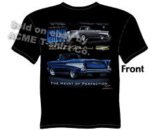 Chevy Shirt Chevrolet Clothing Classic Car Shirt 1957 57 Bel Air Convertible Tee