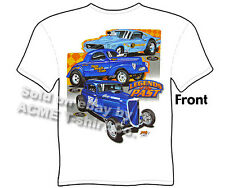 Hot Rod T Shirts Automotive Shirts Ford Shirt 1933 1934 33 34 Legends 41 Willys