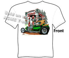 Hot Rod Wear 1923 Ford T Shirt 23 Model T Roadster Texaco Tee Sz M L XL 2XL 3XL