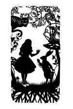 Alice in Wonderland Quote Silhouette Design Case Cover For Apple iPhone 6s 6sP 6