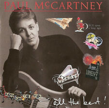 Paul McCartney- All The Best of Greatest Hits CD (UK 1987) Beatles/Wings EX con