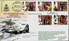 RAF RFDC OFFICIAL SIGNED COVERS RAF SERIES 1-45 FIRST DAY COVERS MULTIPLE LIST
