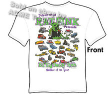 Ed Roth Rat Fink Hot Rod T Shirts Big Daddy Clothing Automotive Builder Of Year