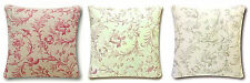 Laura Ashley Ironwork Scroll Fabric Cushion Covers~ Choose your Size and Colour