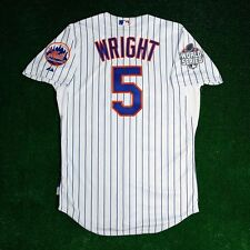 DAVID WRIGHT New York Mets 2015 AUTHENTIC ON-FIELD World Series Home Jersey