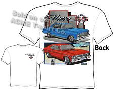 Nova T Shirts Chevy Shirt Chevy II 1966 1967 1968 1969 1970 1971 1972 Chevrolet