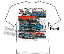 Chevelle T Shirt Chevy Shirt El Camino Muscle Car Tee 64 65 66 67 68 69 70 71 72
