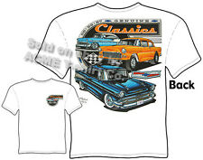 Chevy Shirt Chevrolet Clothing Classic Car Shirt 1955 1956 1957 55 56 57 Gasser