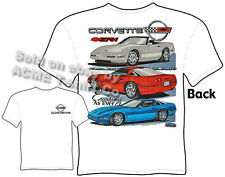 C4 Corvette T Shirt 84-96 Chevy ZR-1 Vette Tee Exciting As Ever Sz M L XL 2XL 3X