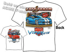 Dodge Viper T Shirt GTS RT/10 Mopar Tee Pure Venom First Strike Sz M L XL 2XL 3X