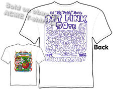 Ed Big Daddy Roth 50th Anniversary T Shirt 2012 Reunion Rat Fink Tee Sz L