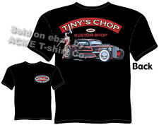 32 33 34 Hot Rod T Shirt 1932 1933 1934 Ford Clothing Rat Rod Tinys Chop Pin Up