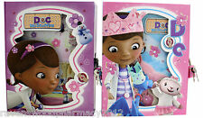 -CLEARANCE- Doc McStuffins :Lockable Diary Box Or Notepad: ASSORTED DESIGNS