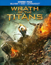 Wrath of the Titans (Blu Ray, DVD, Ultraviolet, 2012)*New,sealed*
