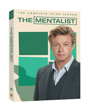 The Mentalist: The Complete Third Season (DVD, 2011, 5-Disc Set) *New,Sealed*