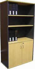Cooper Bookcases NEW Half Door Stationary Cabinet with Lock
