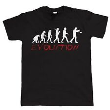 Evolution of Zombie Funny Mens T Shirt - Birthday Gift For Dad Him