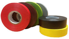 19mm x 33m Electrical PVC Insulating Insulation Wire Cable Tape Range of Colours