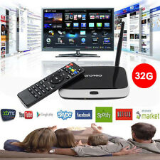 CS918 Quad core Smart TV Box 2GB+32GB 1080P WiFi PC XBMC Loaded Android 4.4 TOP