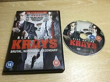 Rise of the Krays DVD Region 2 Acceptable Condition 1st P&P
