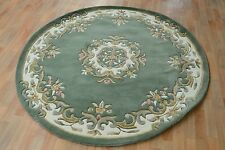 Stella Rugs Rugs NEW Green and Cream Jewel Circle Rug