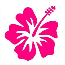 "Hibiscus Vinyl Decal Hawaiian Aloha Flower 3"" Sticker"