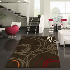 Network Rugs NEW Scribble Brown Modern Rug