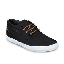 [Lakai] Camby Mid Black Canvas Mens Shoes Select Tech Skateboard Skate Athletic
