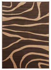 Network Rugs NEW Viva Modern Brown / Beige Novelty Rug