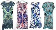 Apt. 9 Paisley Floral Wrap and Foam Dresses NWT$50 $60 Size XS to Plus Size 3X