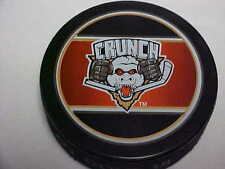 AHL Syracuse Crunch Sher-Wood Collector Souvenir Hockey Puck