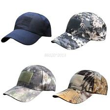 New Military Woodland Digital Camo Hat Camouflage Flag Patch Baseball Cap Hat