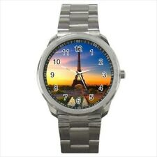 Eiffel Tower Stainless Steel Watches
