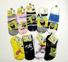 Nickelodeon NEW Spongebob Squarepants Collection Socks Selections 4-6 6-8 9-11