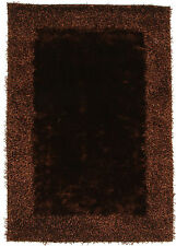 Network Rugs NEW Divine Border Chocolate Shag Rug