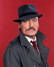 Stacy Keach Poster or Photo Mike Hammer Hat and Trenchcoat