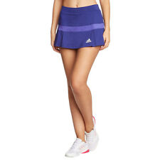 NWT Adidas Women's Tennis Skort Skirt F96586 Blue